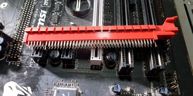 Замена слота PCI-E x16 на мат. плате в СПб